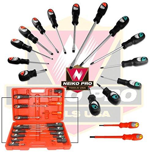 16 Pcs Mechanics Screwdriver Set