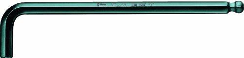 Wera Hexagon 950 PKL L-Key BlackLaser Ballpoint Hex Key 332 x 112mm L-Key Pack of 10