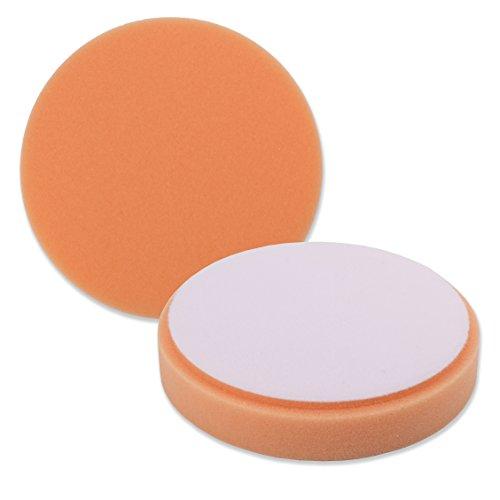 55 Orange Foam Medium Cut DA Pad for use with 5 Backing Pads 5 Pack