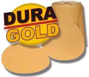 150 Grit DURA-GOLD 6 PSA Disc DA Sander Sandpaper Roll