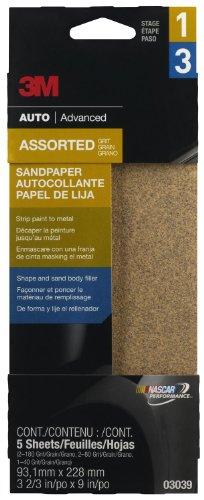 3M 03039 3-23 x 9 Aluminum Oxide Automotive Sandpaper