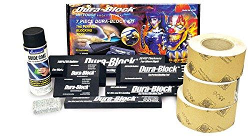 Autobody Dura-Block Sandpaper Block Sanding Kit