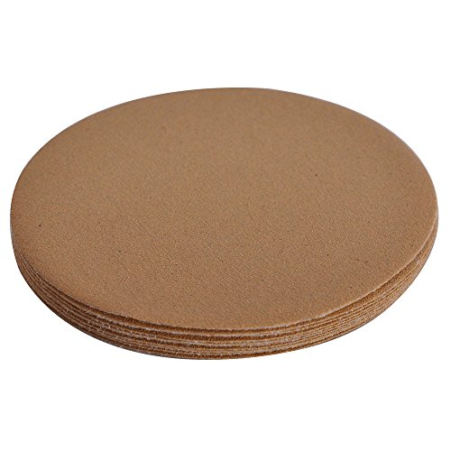 Dry 5 inch Round No Hole Sand Paper Disc 120 Grit Bodykit Repair Sanding Sandpaper 10PC Other Grit No Available By IKON MOTORSPORTS