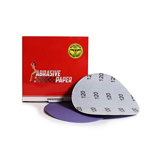 Insta Finish Sanding Discs DA 120 Grit Hook Loop - 50 Discs