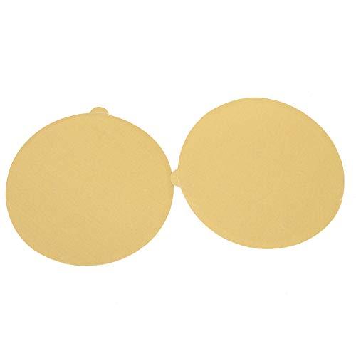 smileracing 6 Gold Sandpaper 50 Roll Sanding Disc PSA Sticky Back Grit 40-800 Sand Paper 120 Grit
