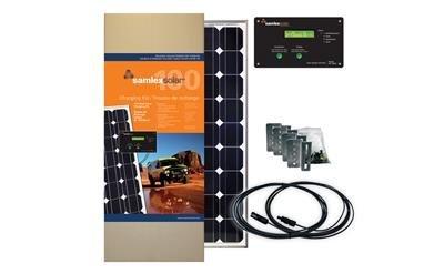 SAMLEX AMER SRV10030A 100W Solar Charging Kit