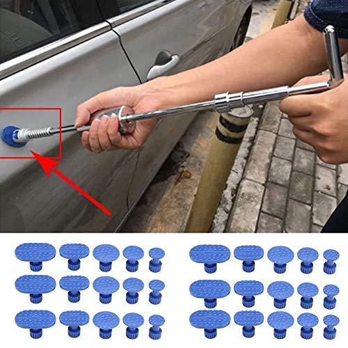 Puller Tabs-30pcs Car Body Dent Removal Pulling Tabs Paintless Repair Tools Glue Puller Tabs