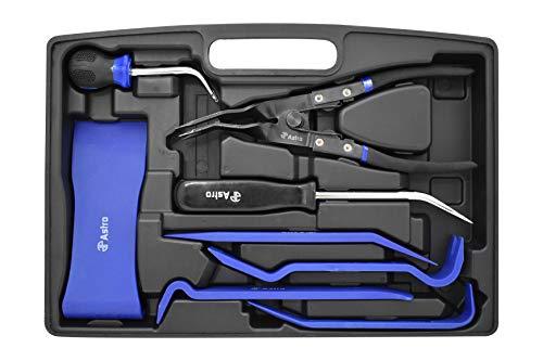 Astro Pneumatic Tool 45080 8-Piece Door Panel Trim Removal Tool Set