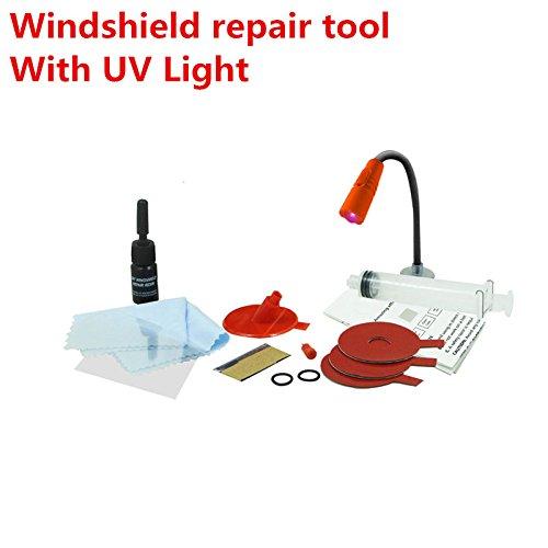 Universal update Car window repair Windscreen Glass renwal Tools Auto Windshield Scratch Crack Restore window Polishing Kit fast With UV Light