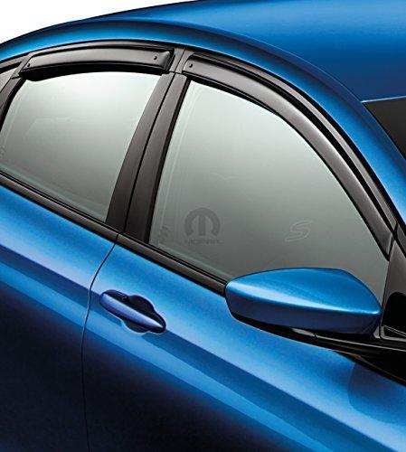 2015-2016 Chrysler 200 Mopar Side Window Air Deflectors - 82214256