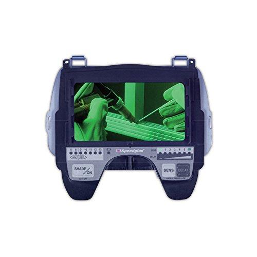 3M 00051135893562 Speedglas 06010030SW Auto-Darkening Helmet with Side Windows Blue