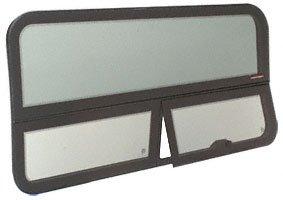 CRL 2007 All Glass Look Sprinter Van T-Vent Driver Side Rear Quarter Panel Window for 170 Wheel Base Van