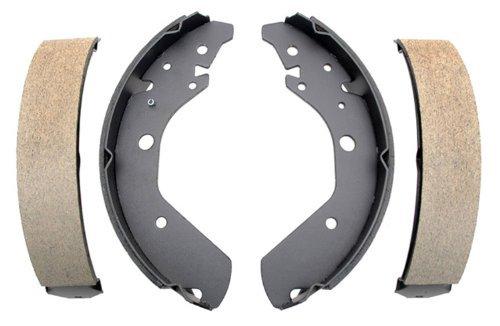 ACDelco 17744B Professional Bonded Rear Drum Brake Shoe Set