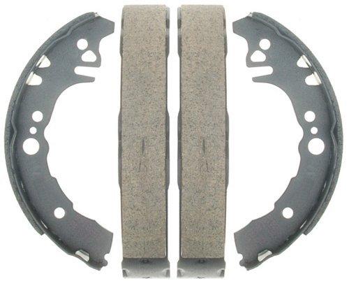 ACDelco 17754B Professional Bonded Rear Drum Brake Shoe Set