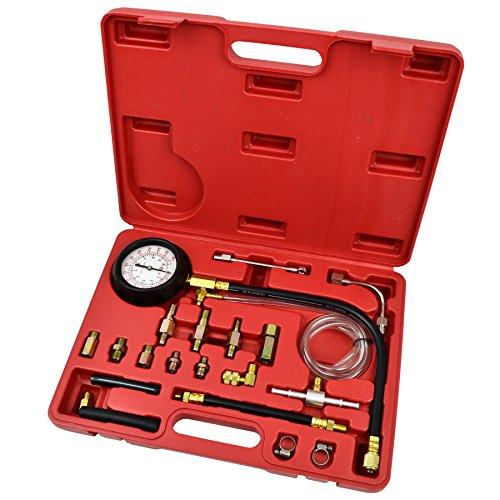 Petrol and diesel fuel pump pressure tester  meter 0 - 145 PSI AT241
