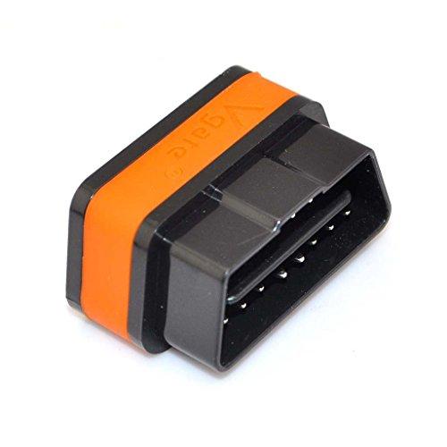 Vgate Icar2 Bluetooth Scanner Car OBDII Can Code Reader With Color Black and Orange