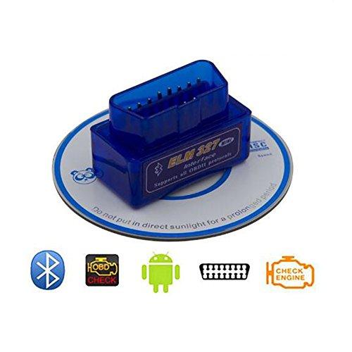 Carrep ELM327-OBD2-Code-Reader-Scanner-V1-5-Bluetooth-Diagnostic-Interface-Fit-Android