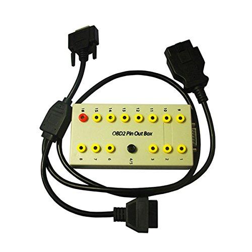 Obdii MB 16pin Breakout Box Diagnostic Connector