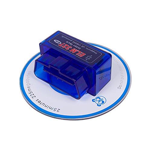 OBDII Diagnostic Tool Super Mini ELM327 Bluetooth OBD2 With 25K80 Chip Scanner