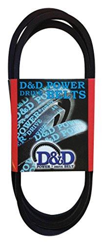 D&D PowerDrive B147 V Belt B5L Rubber 58 x 150 OC