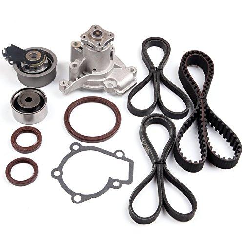 SCITOO Timing Belt Kit Water Pump V- Belt fit 07-09 KIA SPECTRA5 20L