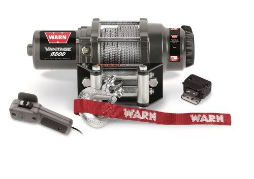 Warn 89030 Vantage 3000 Winch - 3000 lb Capacity