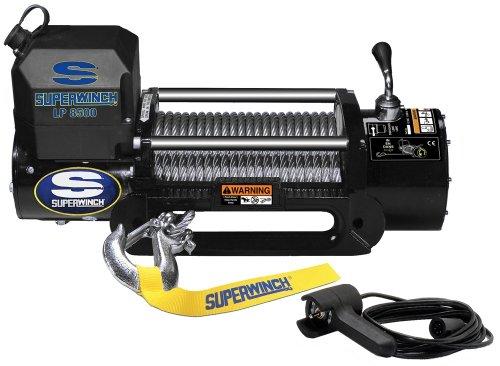Superwinch 1585202 LP8500 Winch Gen II 12 VDC 8500lbs3856kg steel hawse handheld remote