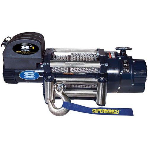 Superwinch 1614200 Talon 140 12 VDC winch 14000 lb6350 kg capacity with roller fairlead