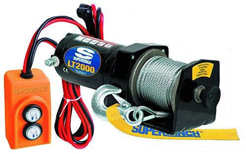 Superwinch LT2000 12V Utility Winch 2000lbPink