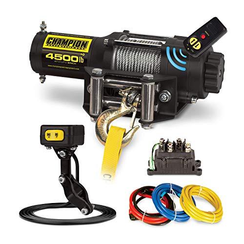 Champion 4500-lb ATVUTV Wireless Winch Kit