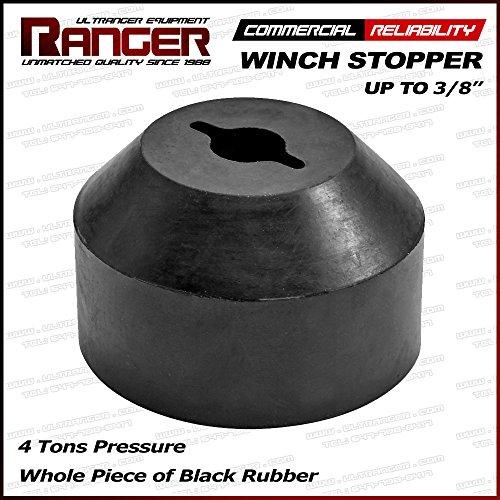Ranger ATV UTV Jeep Pickup Truck Winch Stopper Line Saver 316 14 516 38 Synthetic Wire Rope Winch Ultranger