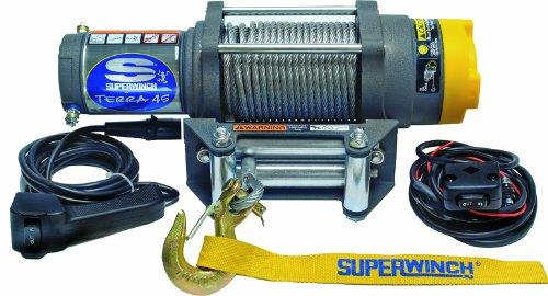 Superwinch 1145220 Terra 45 ATV Utility Winch 4500lbs2046kg Rating