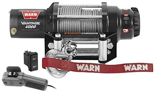 New Warn Vantage 4000 lb Winch With Model Specific Mounting Hardware - 2010-2014 Polaris Ranger 800 HD UTV