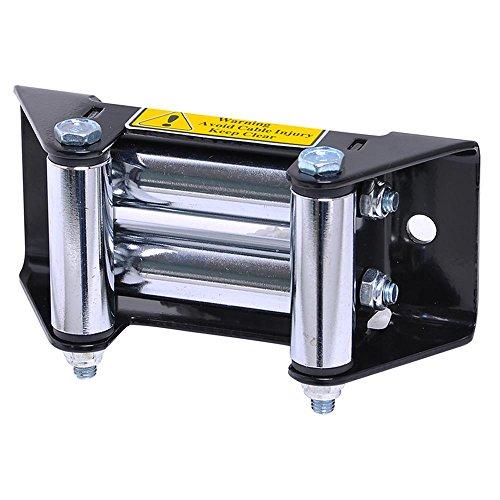 Universal Roller Fairlead ATV UTV SUV Car Winch Mount for 3000-4000 Lb Winches Replacement