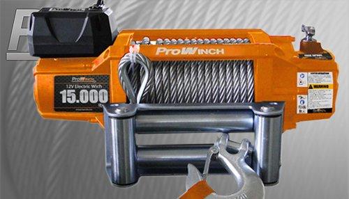 PROWINCH PWTR 15K GEN2 15000 lb 12V Winch waterproof Roller wireless control