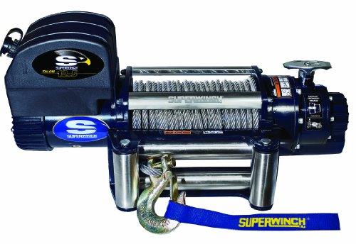 Superwinch 1612200 Talon 125 12 VDC winch 12500 lb5682 kg capacity with roller fairlead