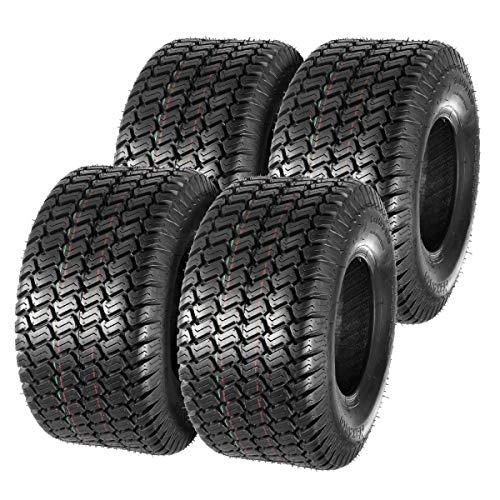 MaxAuto 18x850-8 18x85x8 Lawn Mower Utility Cart Turf Tires P332 4PR Set of 4