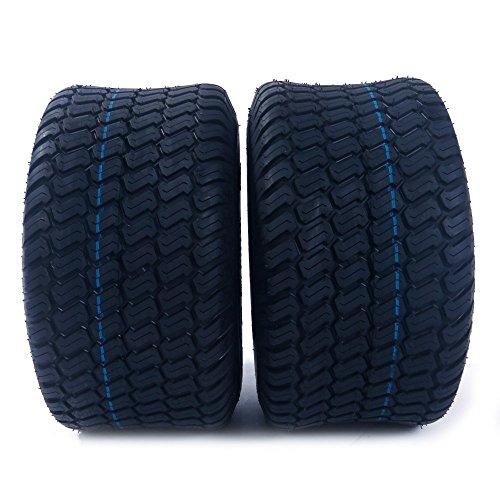 Motorhot 2Pcs 18x950-8 Lawn Garden Tire 4PR Lawn Mower Utility Cart Turf Tires