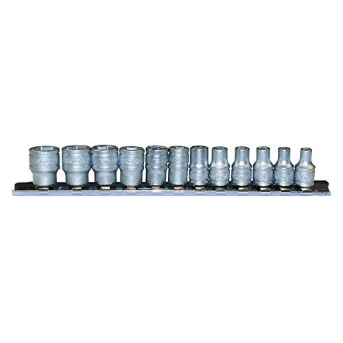 Teng Tools M1412 - 12 piece 14 inch Drive 6 Point Regular Socket Set