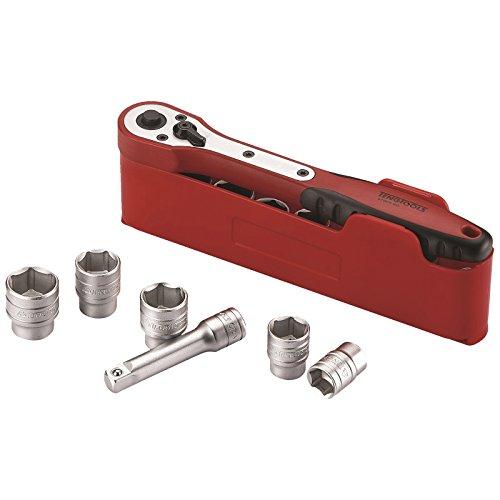 Teng Tools M3812N1 - 12 Piece 38 inch Drive Socket Set