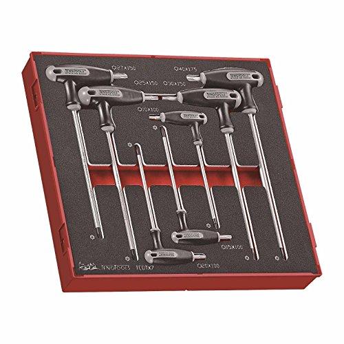Teng Tools TEDTX7 - 7 Piece T Handle TX Key Set in EVA Tray