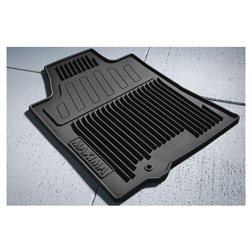 OEM Nissan Maxima Black All Weather Rubber Floor Mats