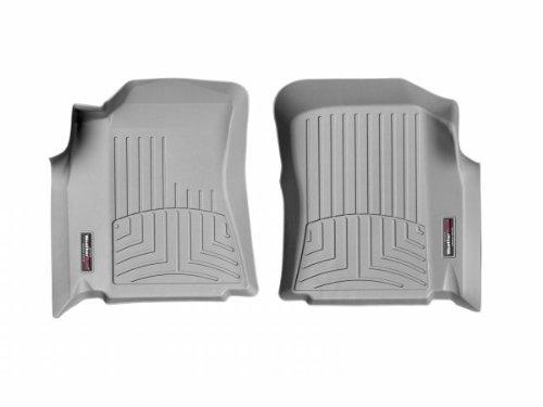 WeatherTech - 460011 - 2000 - 2004 Toyota Tundra Grey 1st Row FloorLiner