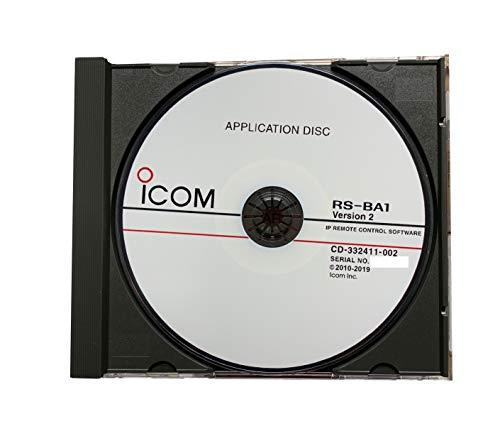 Icom RS-BA1 Version 2 IP Remote Control Software for Icom IC-7851 IC-7850 IC-7610 IC-7300 IC-7200 IC-7100 IC-9700