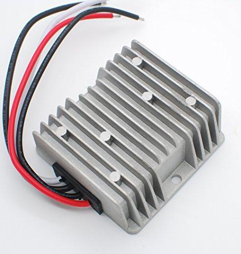 DC car converter 24V to 12V 15A 180Wmax High efficiency less heat