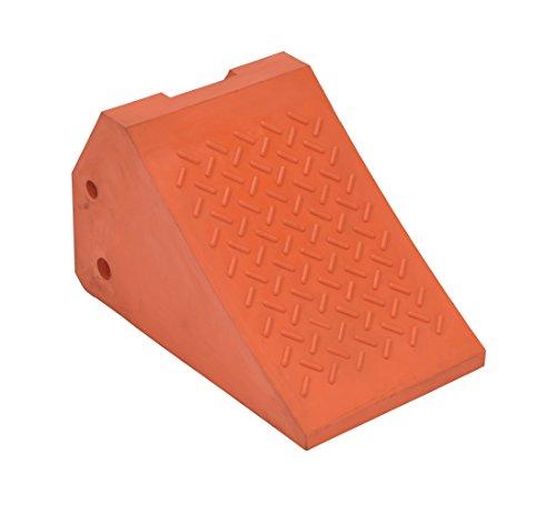 Vestil URWC-35 Urethane Wheel Chock 14 x 14 x 24 Orange