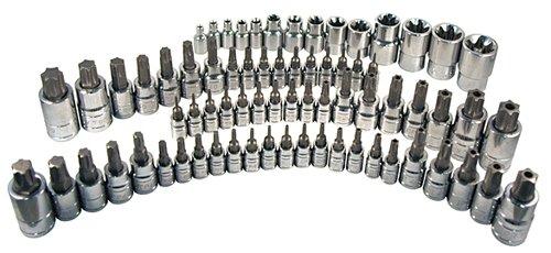 ATD Tools 13772 Master Star Bit Socket Set - 72 Piece