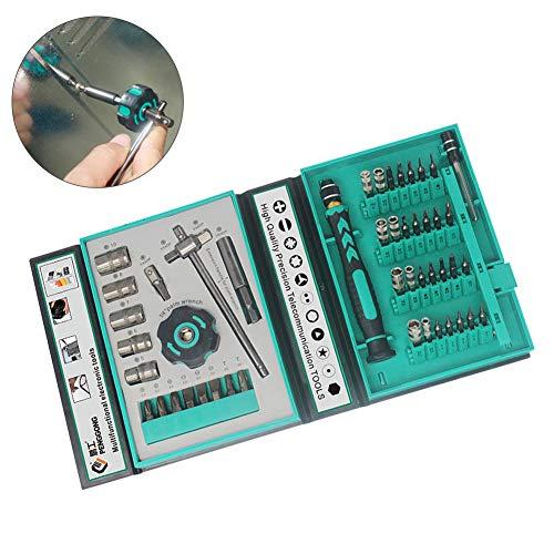 FAgdsyigao 47Pcs Precision Screwdriver KitPengGong Magnetic Precision Screwdriver Kit PC Phone Laptop Repair Tools 47 PCS