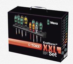 Wera - Wera Kraftform XXL Assorted Screwdriver Set 12 Pc - 5347105001