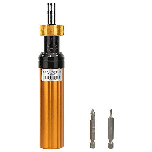 Torque Screwdriver Alloy Steel Preset Type 1-6Nm Adjustable Torque Screwdriver Handheld Maintenance Tool Swivel Tool Preset Screwdriver